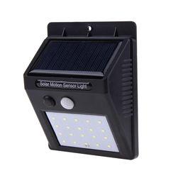 Kültéri napelemes LED lámpa