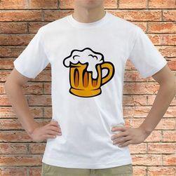 Póló - sör mintával