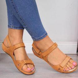 Dámské sandály Lilla - Hnědá-42