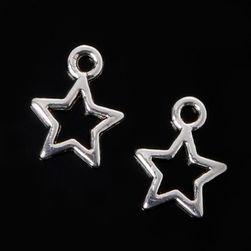 Přívěsky - hvězdy, 10 kusů