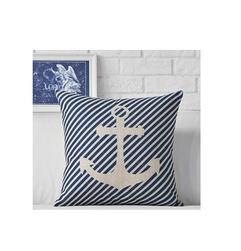 Poszewka na poduszkę w marynarskim stylu