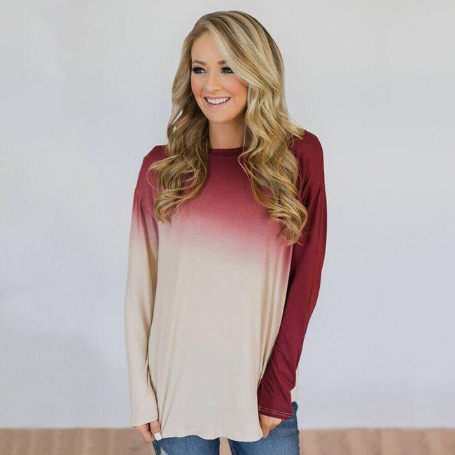 Női hosszú ujjú póló Amiyah