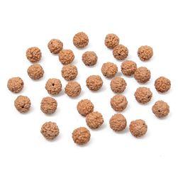 Brązowe koraliki - 108 sztuk