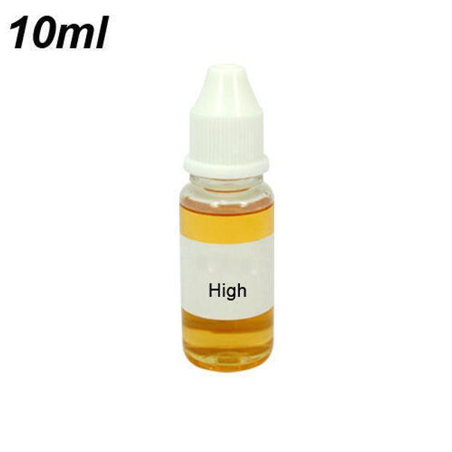 10ml E-liquid, příchuť Vanilka, střední obsah nikotinu 1