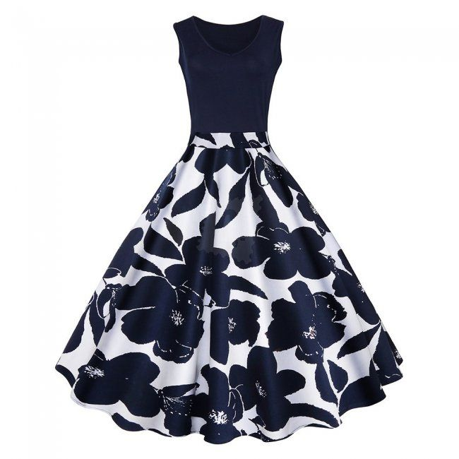 Dámské šaty ve stylu vintage - 4-L 1