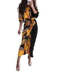 Women's long sleeve dress BR_CZFZ00529