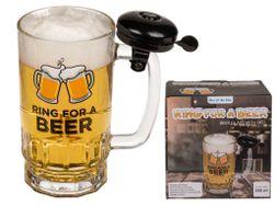 Půllitr na pivo se zvonečkem PD_1619941