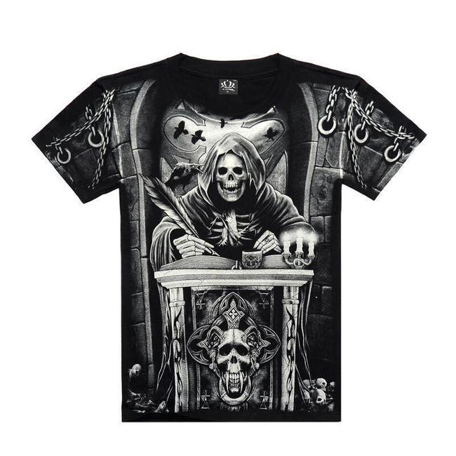 Rock majica z originalnimi dizajni 1