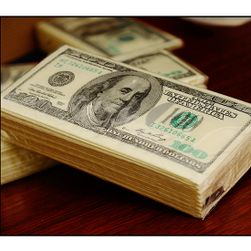 Paket papirnih salveta sa motivom američkog dolara