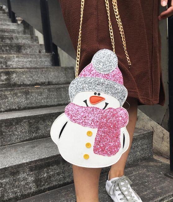 Hóember alakú kézitáska