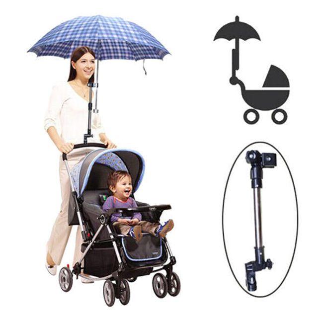 Регулируемый держатель зонта на коляску 1