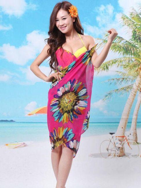 Letnia sukienka na plażę - do wyboru z 6 kolorów 1