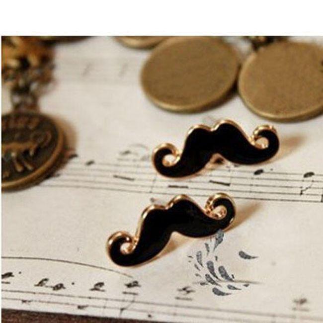 Kolczyki - wąsy 1