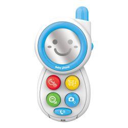 Detský telefónik so zvukmi blue RW_41505