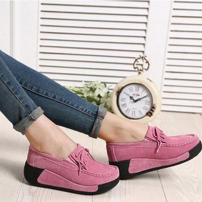 Удобные замшевые ботинки 1