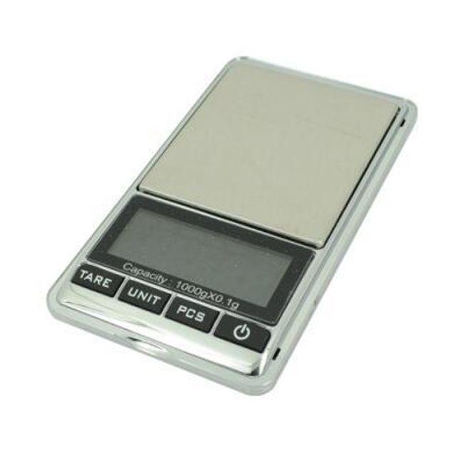 Digitalna džepna vaga 0,1 - 1000 g 1