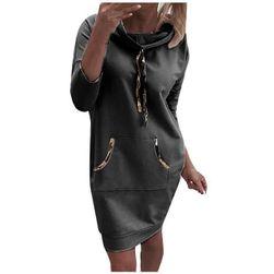 Dámské mikinové šaty Aletta