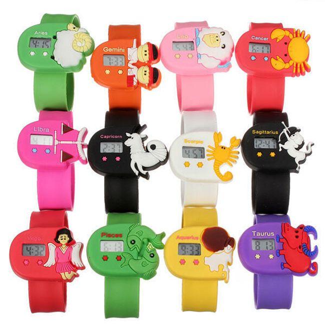 Dětské digitální hodinky se znaky horoskopu - na výběr ze 12 variant 1