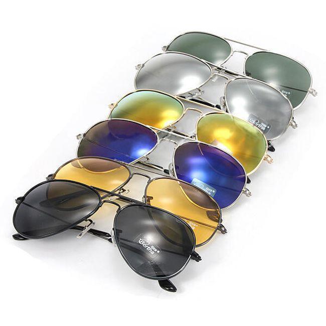 Okulary słoneczne pilotki - oferujemy 6 kolorów 1
