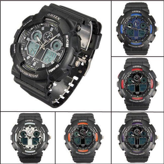Męski sportowy zegarek - oferujemy sześć kolorów 1