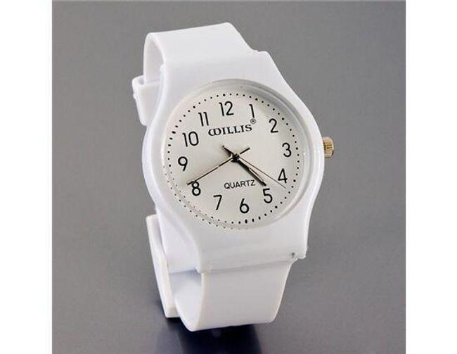 Zegarek z białym paskiem 1
