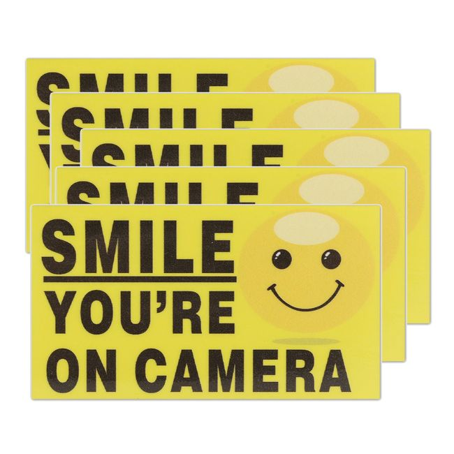 Vicces matrica - a kamerák figyelmeztetése - 5 darab 1
