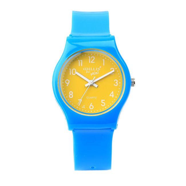 Modré dětské hodinky 1