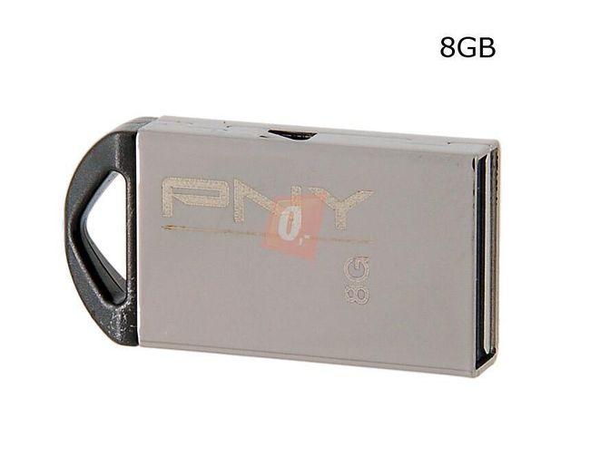 8GB Flashdisk - základní (stříbrný) 1