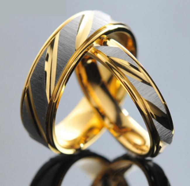 Snubní prstýnky v jemném provedení 1