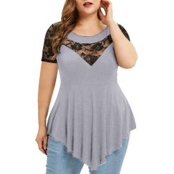 Ženska poletna obleka s kratkimi rokavi EA_639677275014