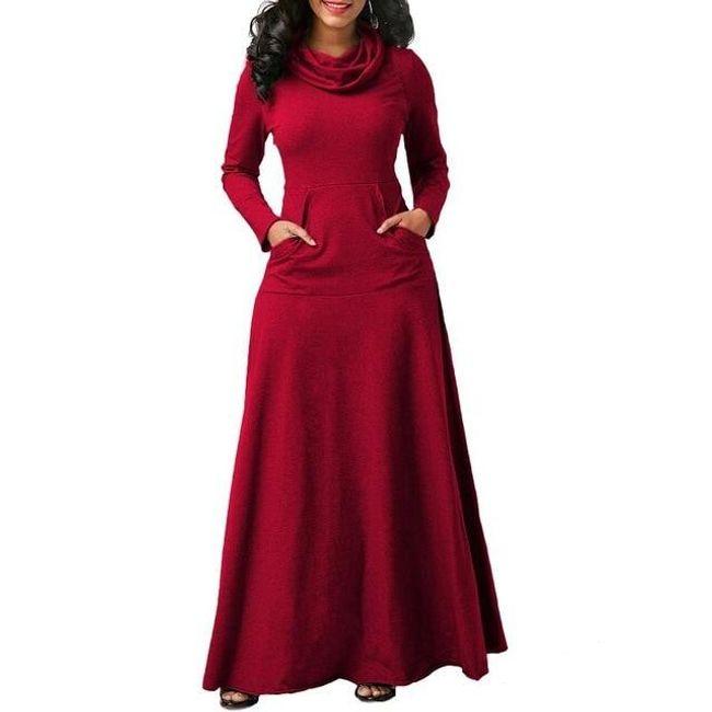 Dlouhé dámské šaty Myra 1