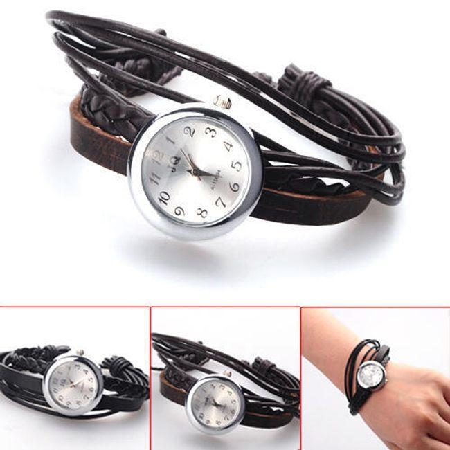 Retro hodinky - unisex, 2 barvy 1