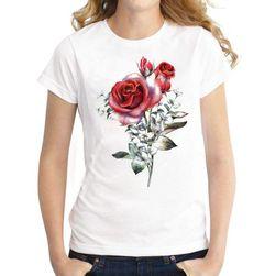 Kısa kollu bayan tişört Leonda