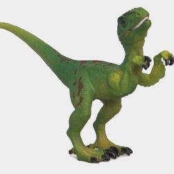 Velociraptor mozgó testrészekkel
