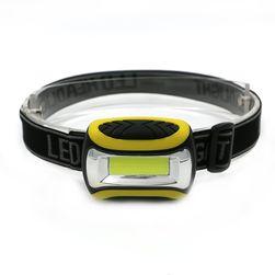 Reflektor LED z żółtymi oznaczeniami