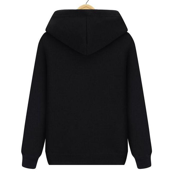 Férfi pulóver kapucnival Kendrick