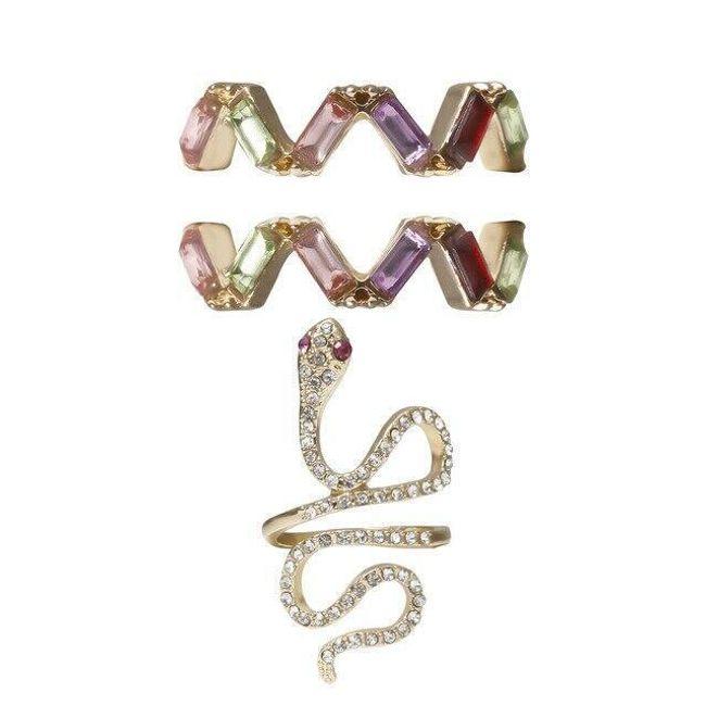 Damskie pierścionki Lussy 1