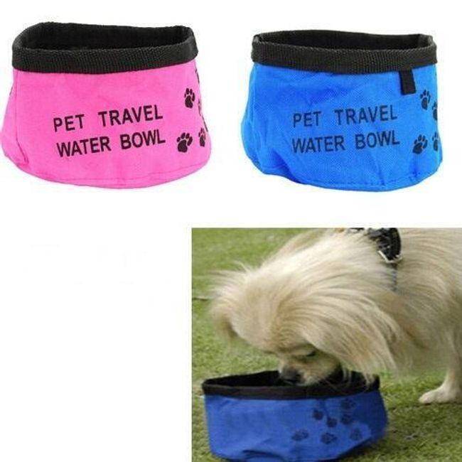 Складная миска для воды для собак 1