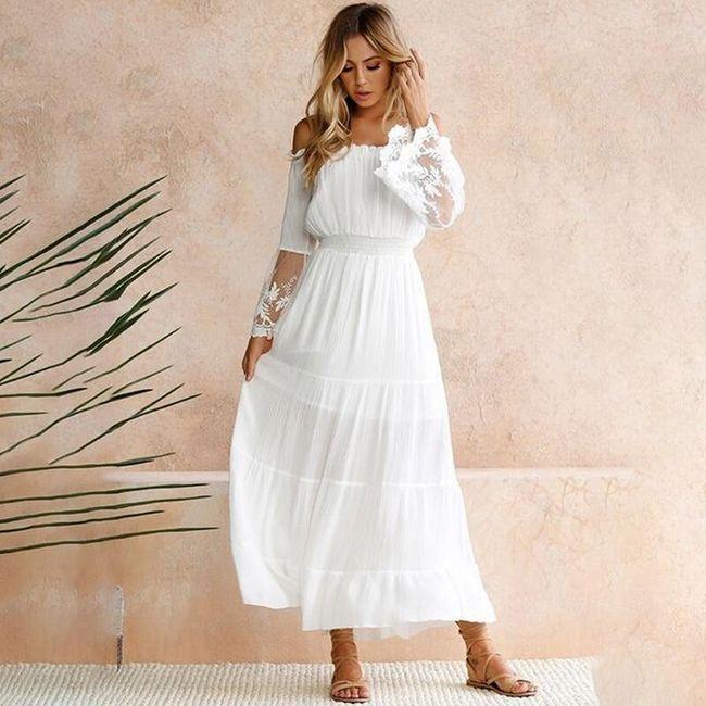 Dámské maxi šaty Keisy 1