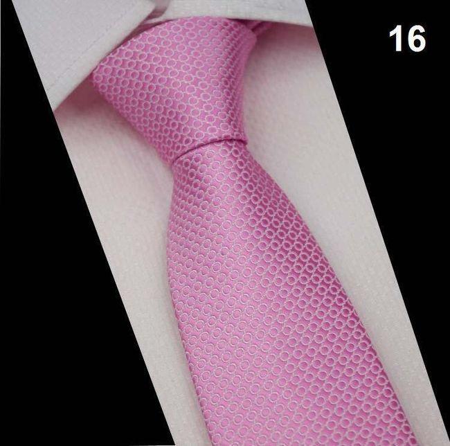 Selyem hivatalos nyakkendő - sok minta