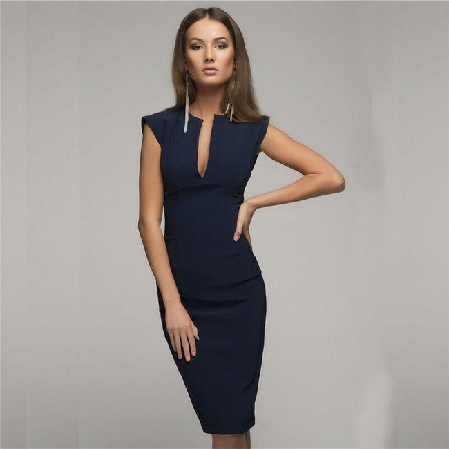 Poslovna haljina - 3 boje 1