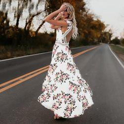 Dlouhé šaty s odhalenými zády