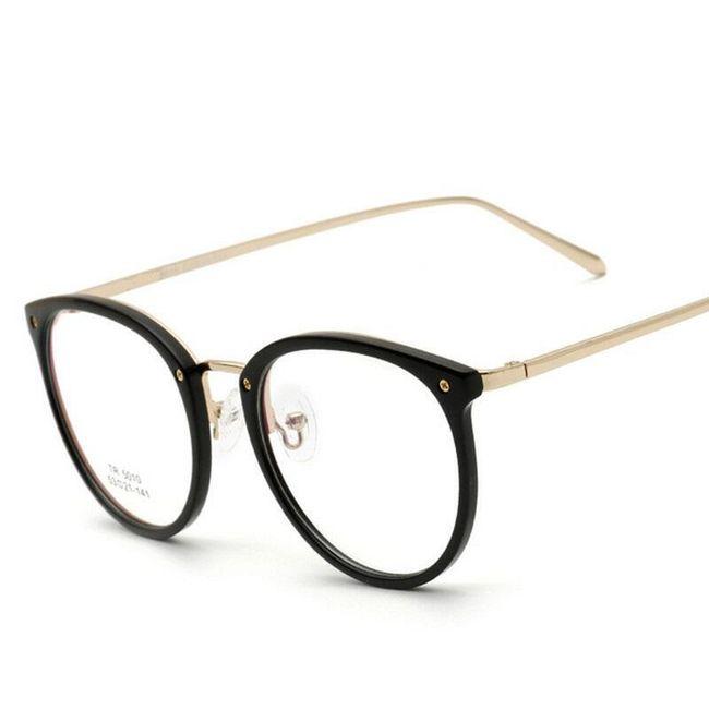 Brýle s kulatými obroučky 1