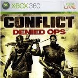 Gra (Xbox 360) Conflict: Denied Ops