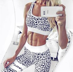Fitness komplet sa motivima leoparda