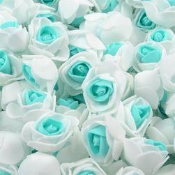 Piankowe dekoracyjne róże 50x