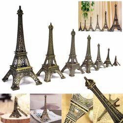 Dekoracja w kształcie wieży Eiffla - 7 rozmiarów