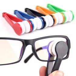 Miniklipsy z mikrowłóknem do czyszczenia okularów