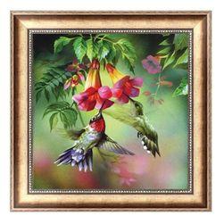 DIY obraz s ptáčky - 5D