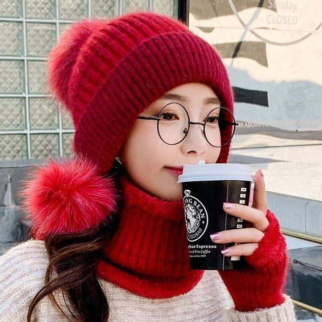 Damska zimowa czapka Riana 1